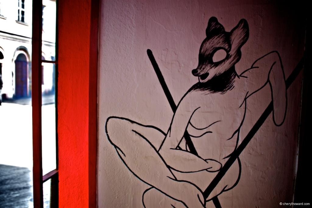 Street Art In Krakow - Deer Man