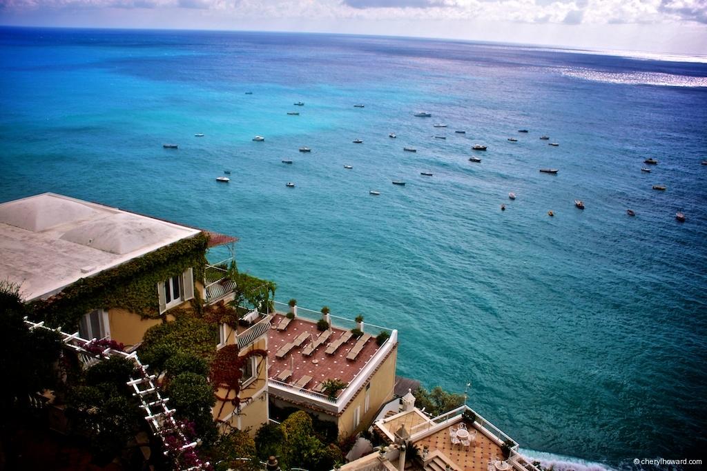 Visit Positano Italy Blue Sea