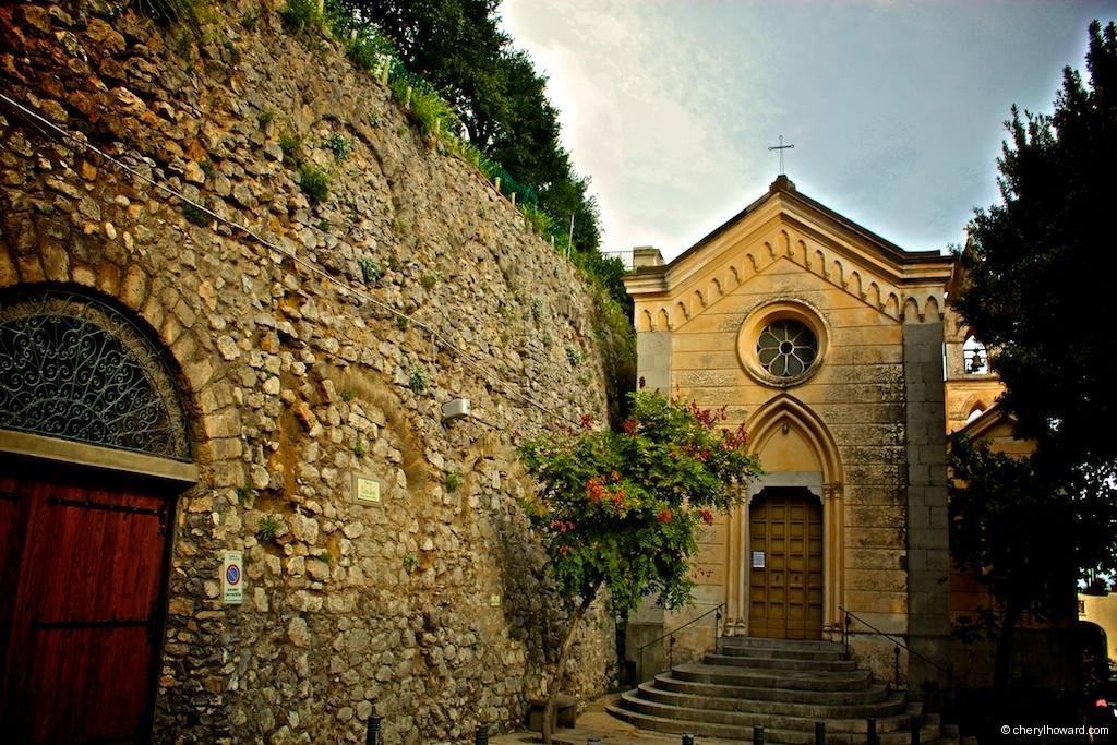 Visit Positano Italy Church