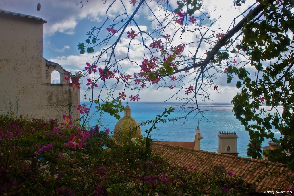 Visit Positano Italy Flowers