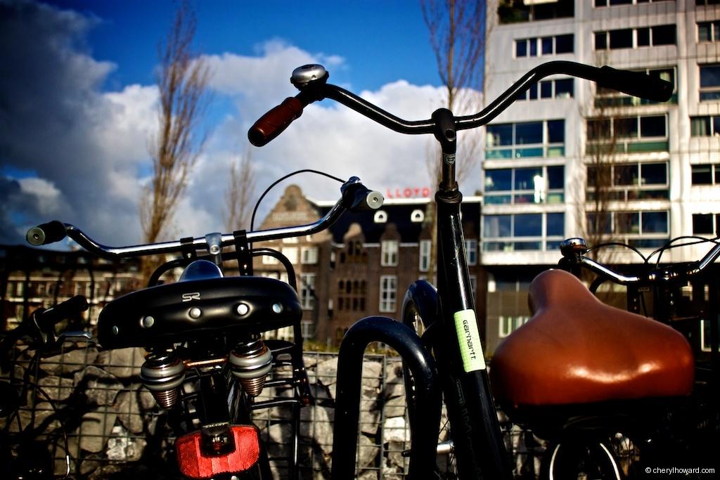 Lloyd Hotel In Amsterdam Bikes