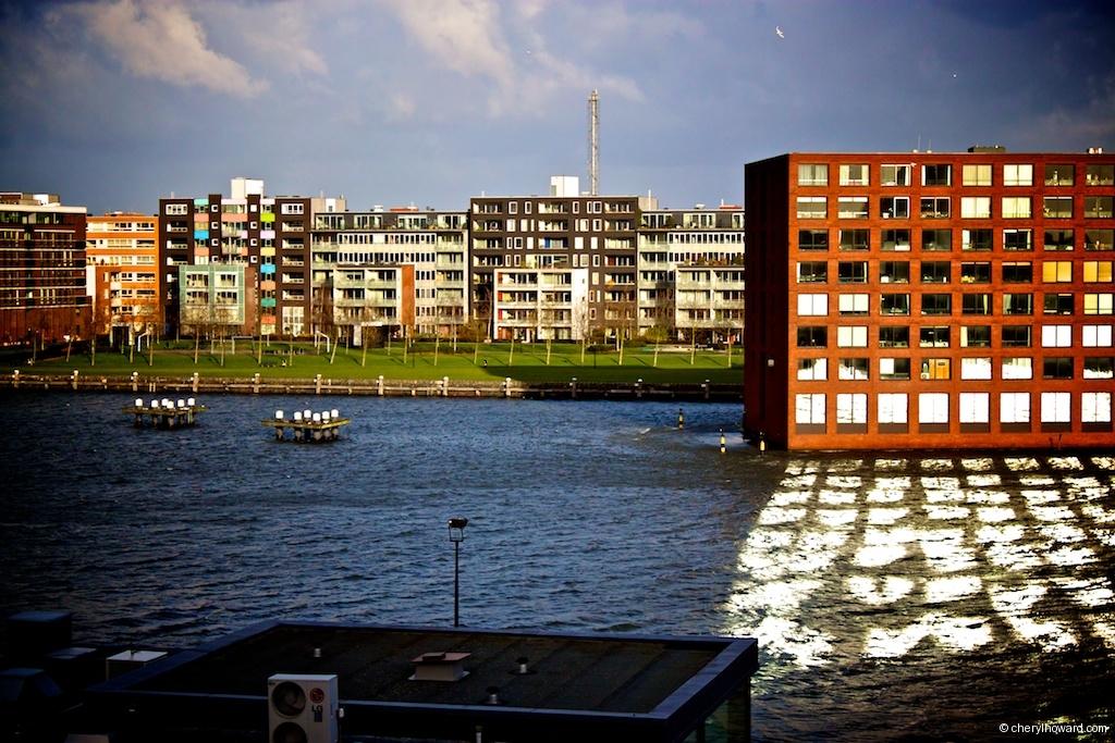 Lloyd Hotel In Amsterdam - Canal Views
