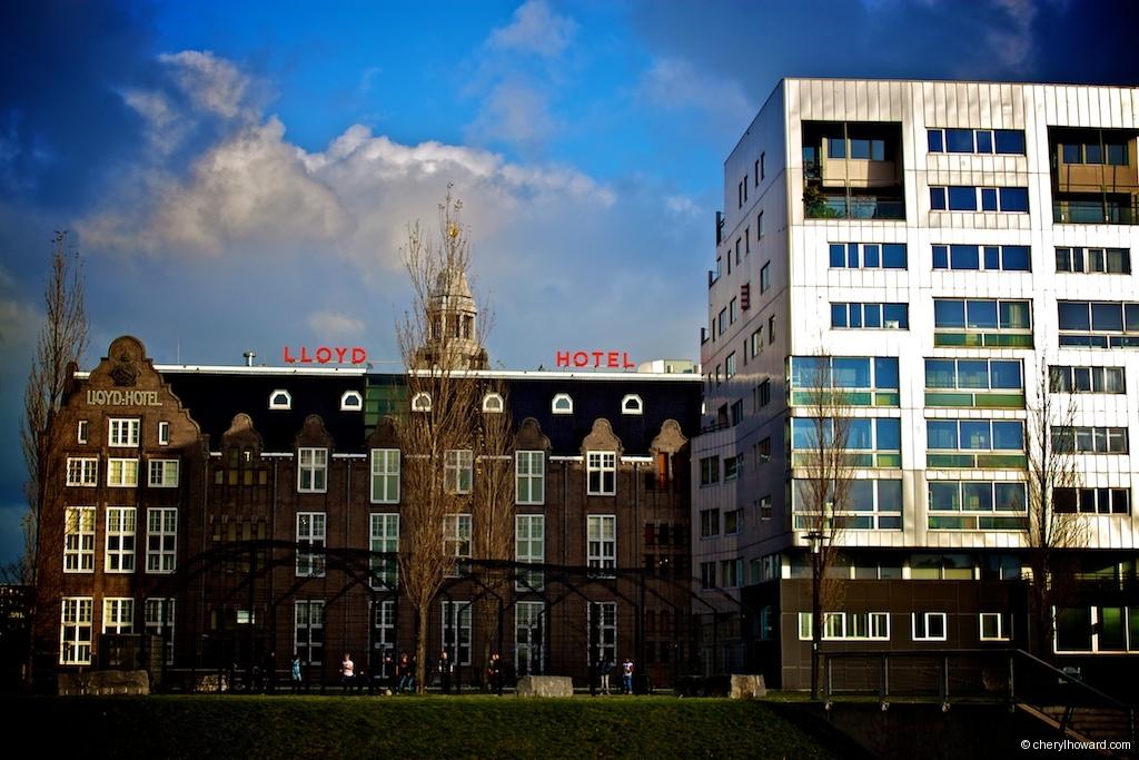 Lloyd Hotel In Amsterdam Outside