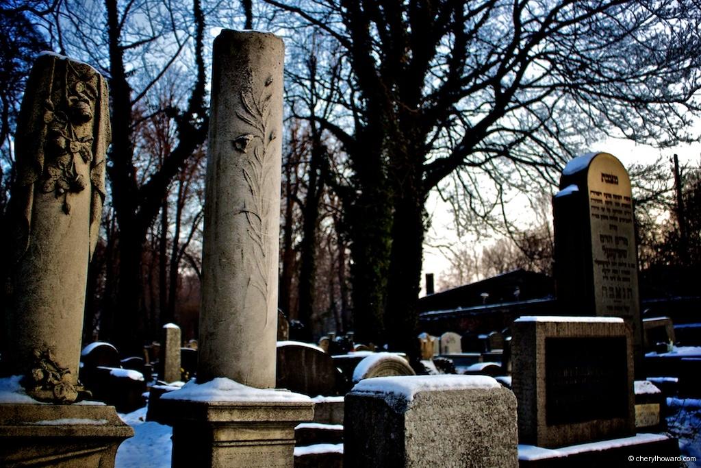 New Jewish Cemetery Krakow Graves