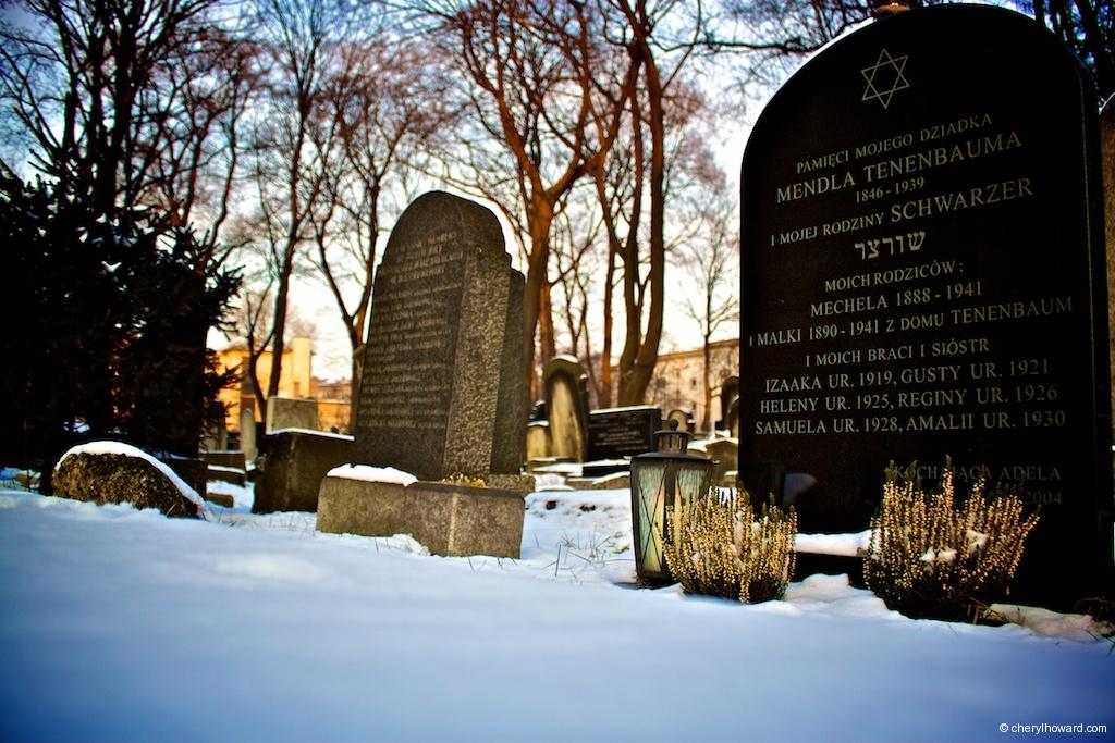 New Jewish Cemetery Krakow - More Graves