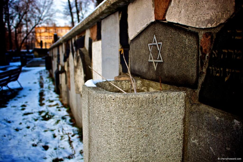 New Jewish Cemetery Krakow Star Of David
