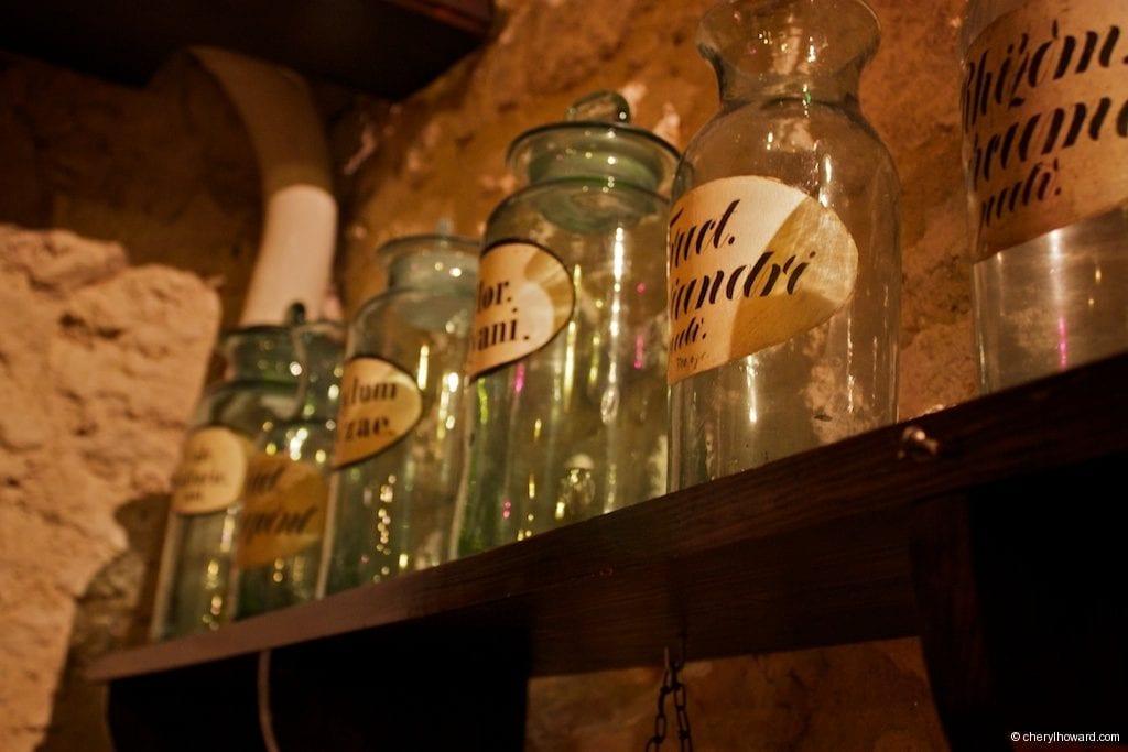 The Pharmacy Museum in Krakow - Glassware