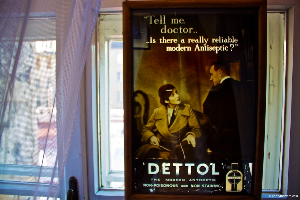The Pharmacy Museum in Krakow - Vintage Advertisement