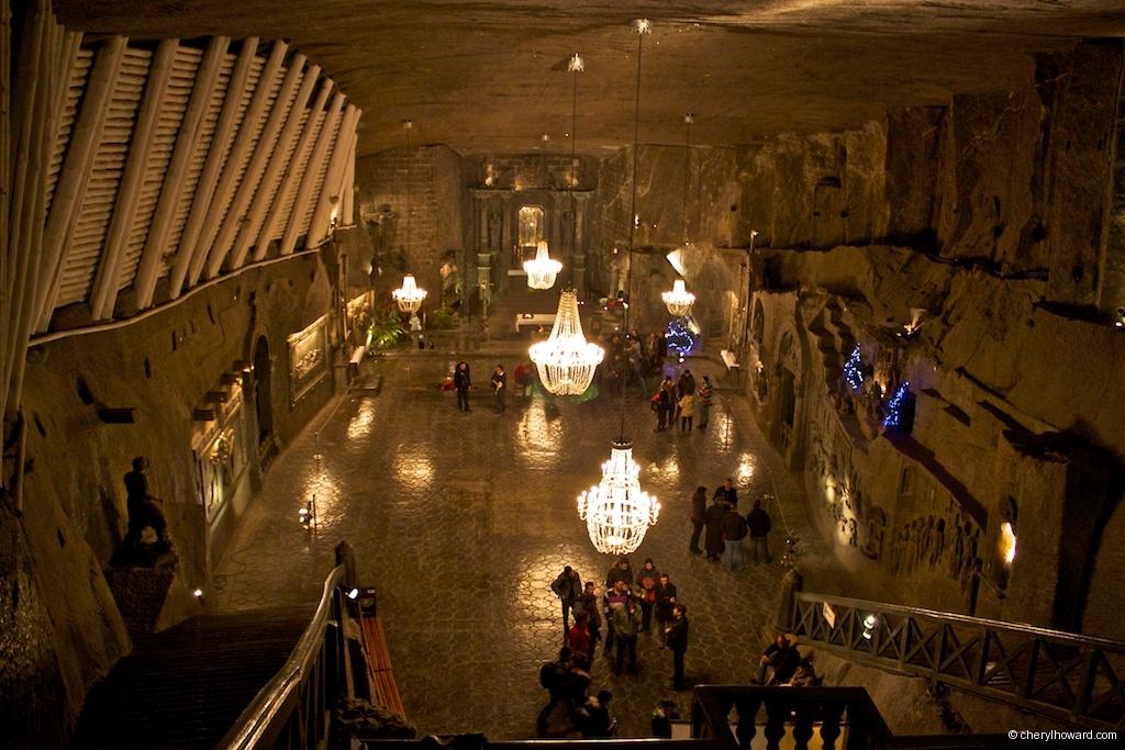 The Wieliczka Salt Mine in Poland - Chapel