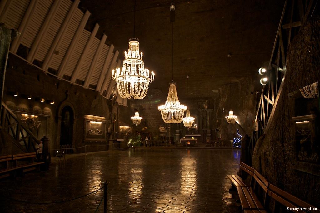 Wieliczka Salt Mine Famous Cathedral