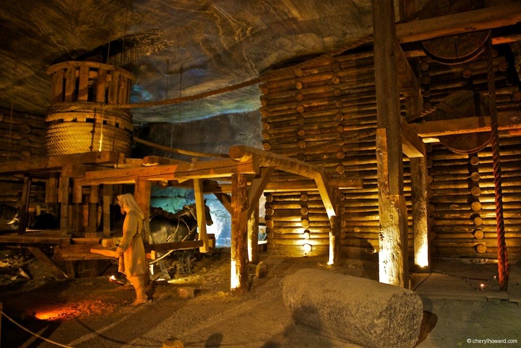 Wieliczka Salt Mine - Labourers