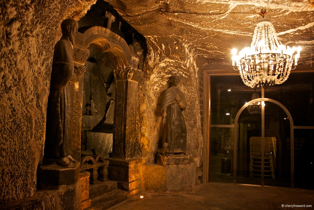 Wieliczka Salt Mine - Small Chapel for Miners