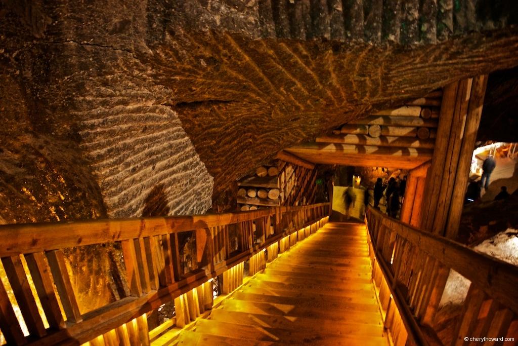 Wieliczka Salt Mine Steep Stairs