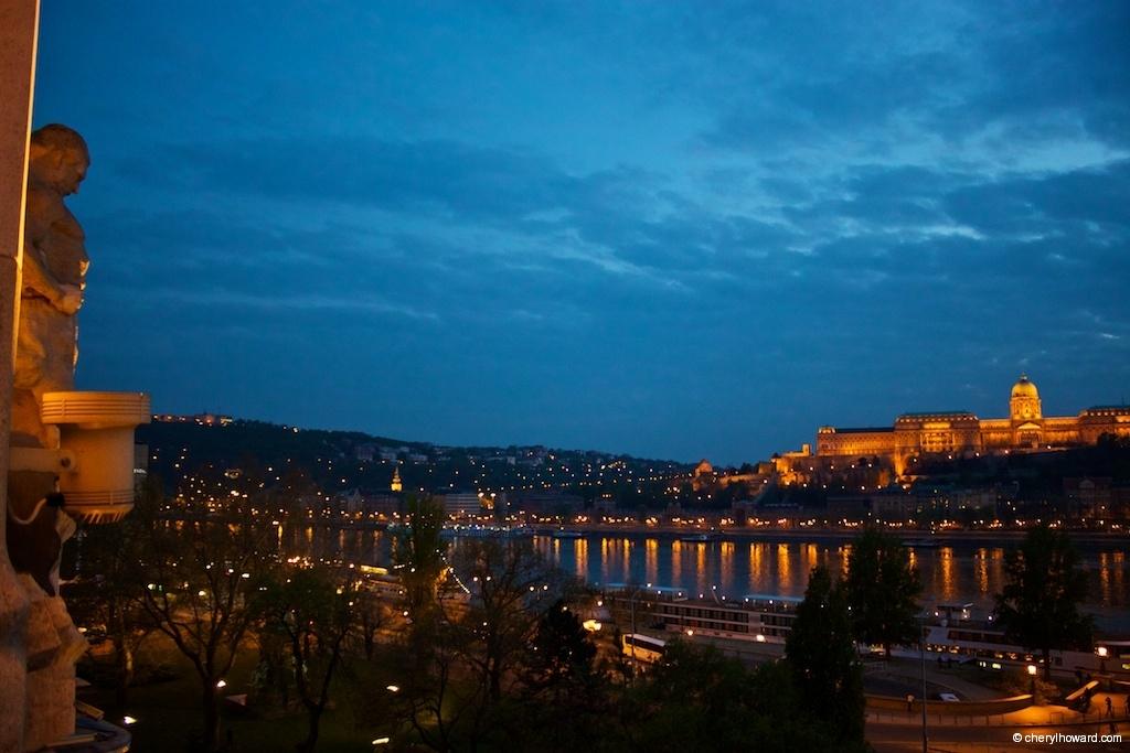 Budapest Sunset - Blue