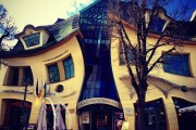The Unvertical House in Sopot, Poland.