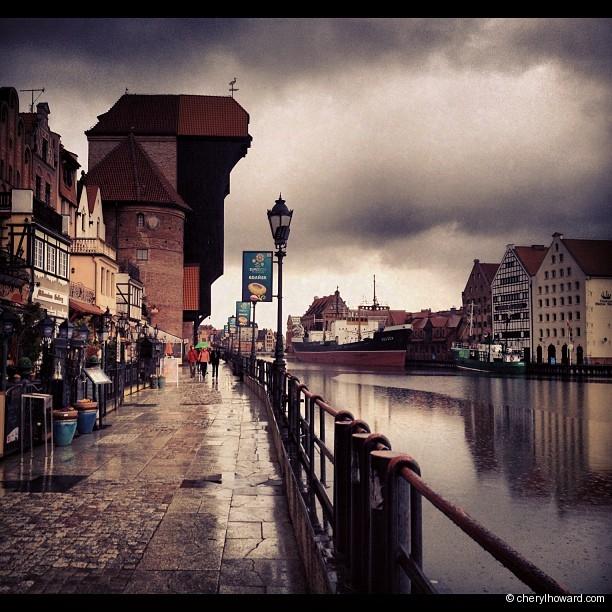 Gdansk Old Crane
