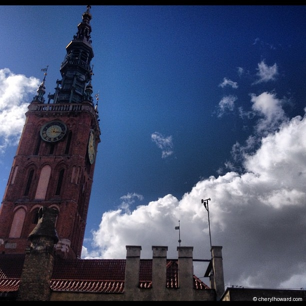 Gdansk St. Mary's Church By Day