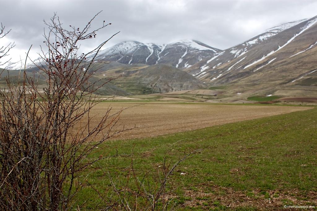 Monti Sibillini National Park Some Snow