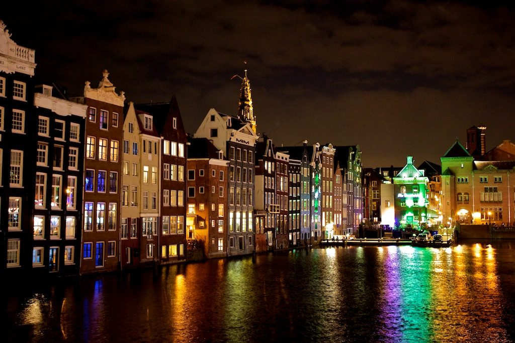Amsterdam In Pictures - By Night