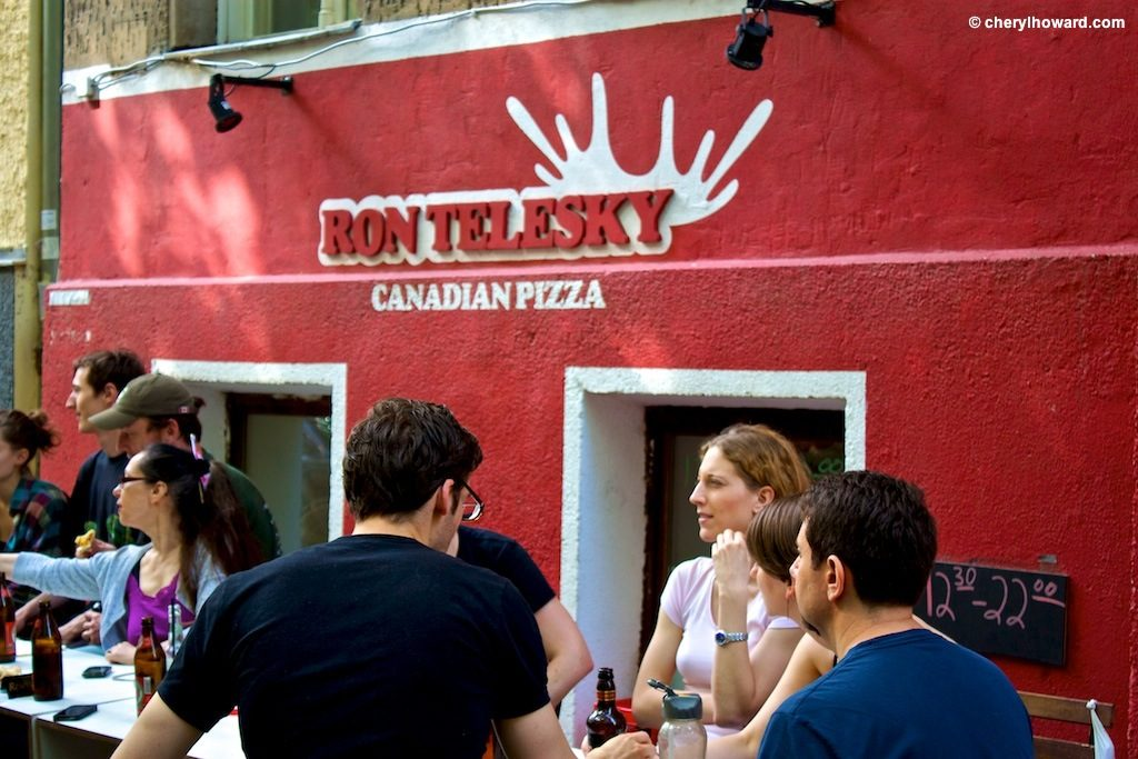 Celebrating Canada Day In Berlin At Ron Telesky Canadian Pizza