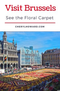 Visit Brussels - Floral Carpet