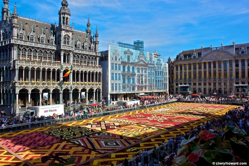 Flower Carpet in Brussels' Grand Palace