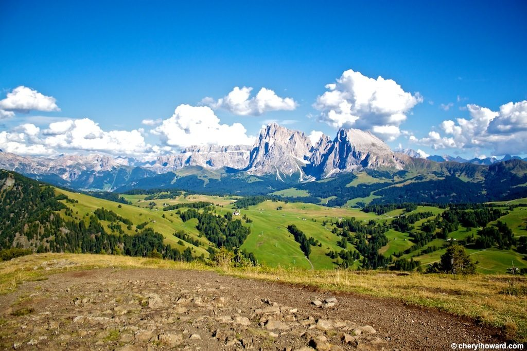 Alpe Di Siusi Mountains