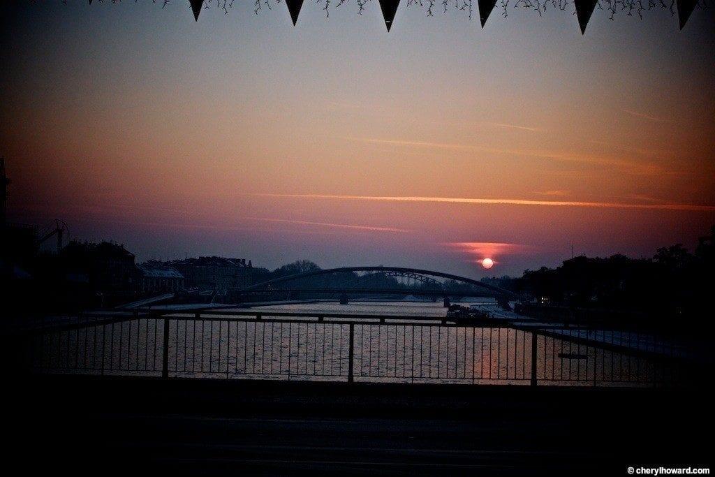 Krakow Poland At Night - Sunset