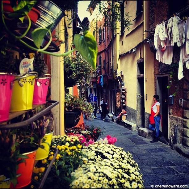 Instagramming Porto Venere.