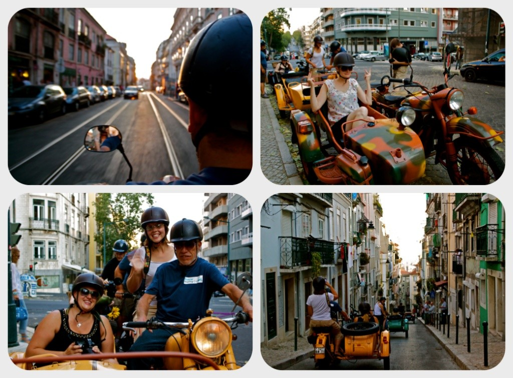 Sidecar Tour in Lisbon.