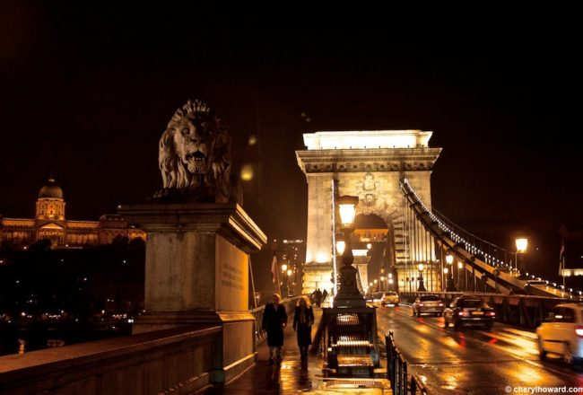 BudapestChainBridgeAtNight 003 650x440 - Photos: The Chain Bridge in Budapest at Night