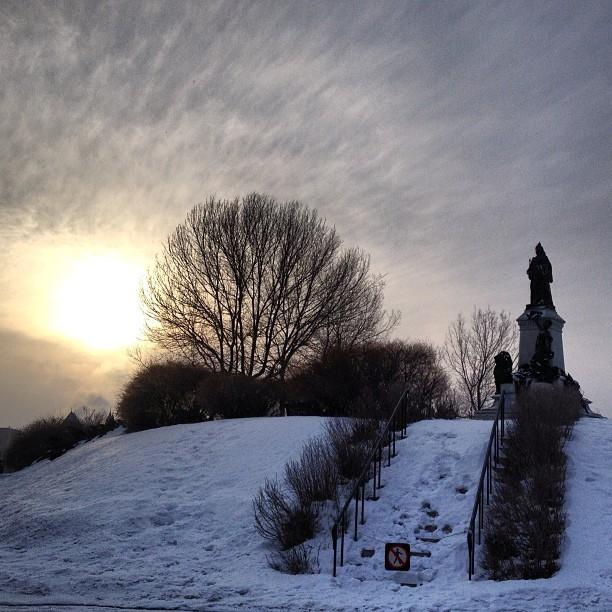 Winterlude in Ottawa.
