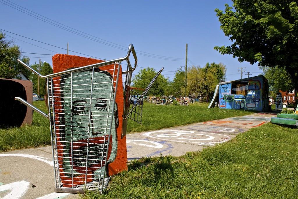 Heidelberg Project In Detroit Shopping Cart
