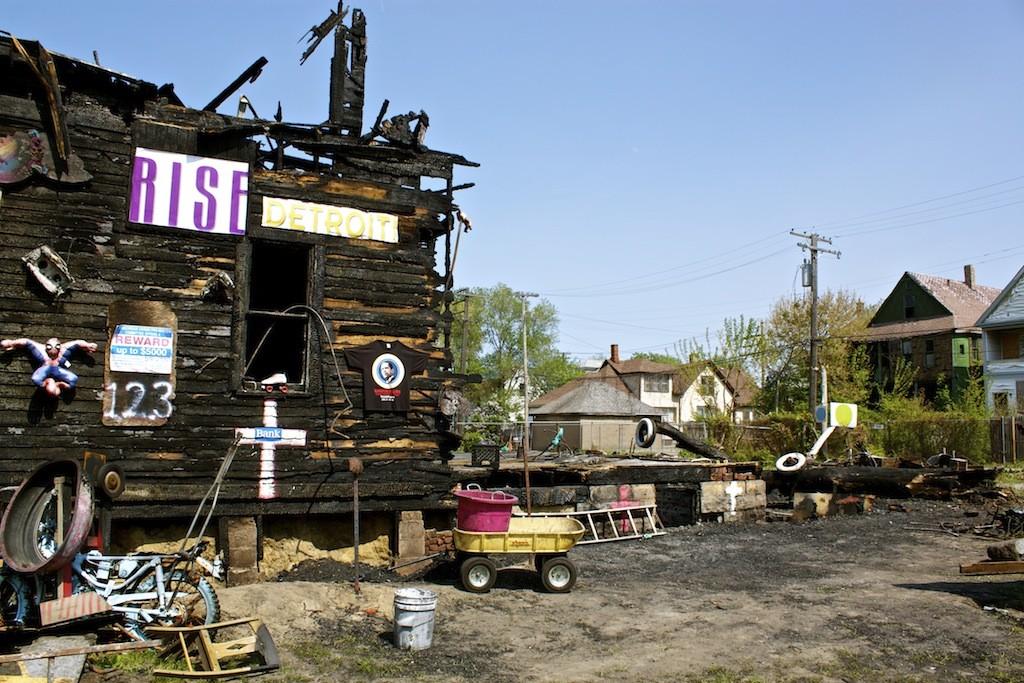 The Heidelberg Project In Detroit Arson