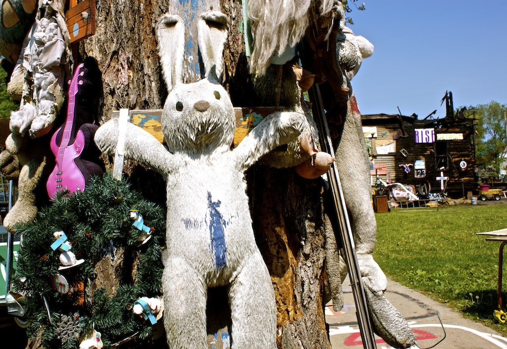 The Heidelberg Project In Detroit - Bunny
