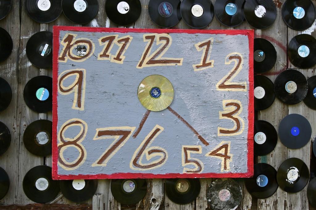 The Heidelberg Project In Detroit Clock