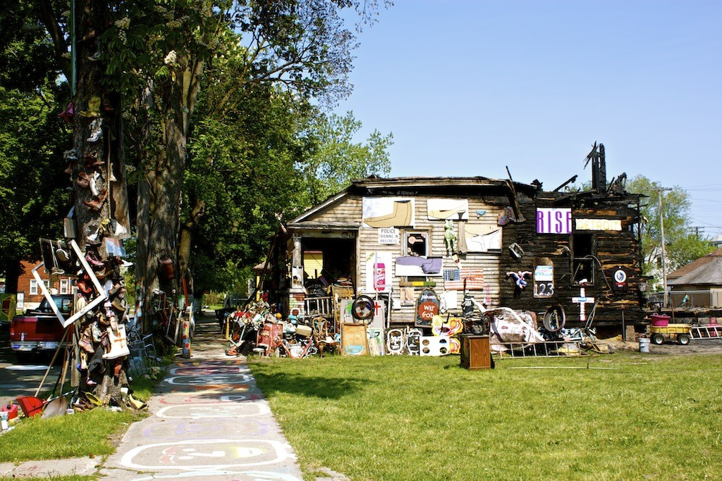 The Heidelberg Project In Detroit House