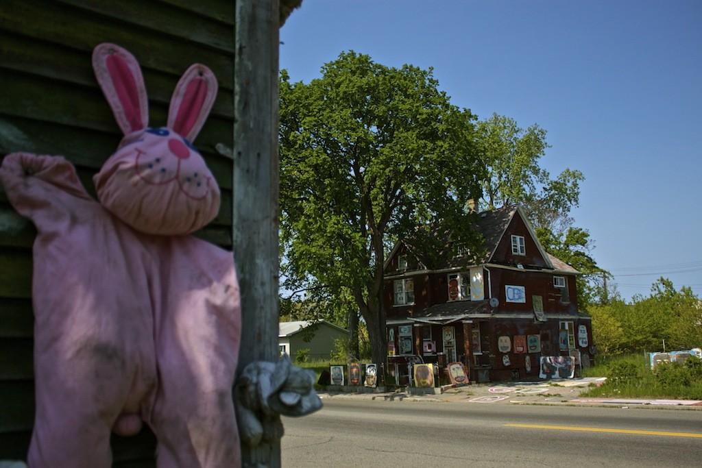 The Heidelberg Project In Detroit Rabbit