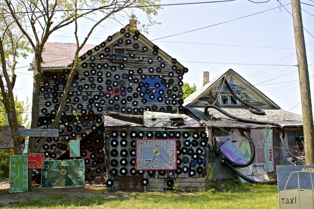 The Heidelberg Project In Detroit Record House