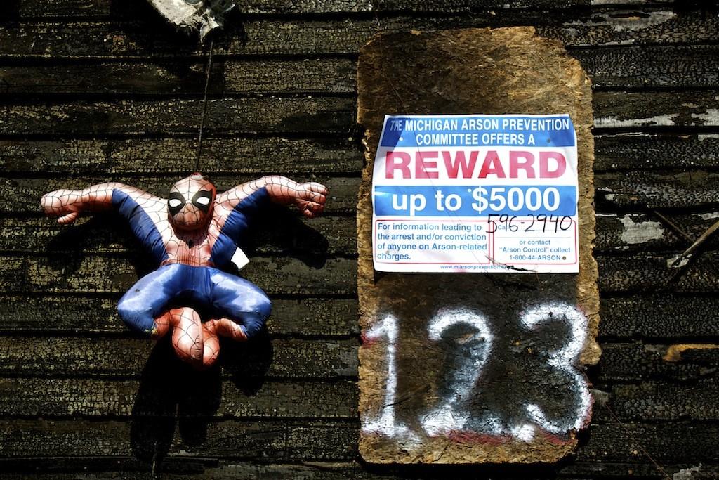 The Heidelberg Project In Detroit Spiderman