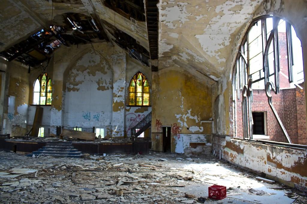Calvary Presbyterian Abundant Life Christian Church Inside