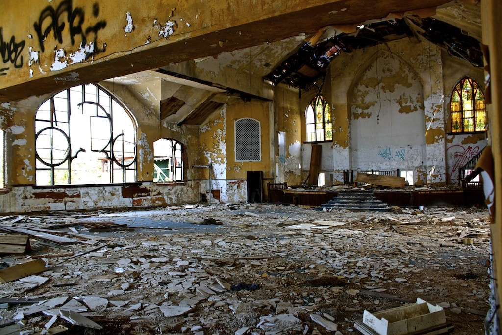 Abundant Life Christian Church Abandoned Building Detroit