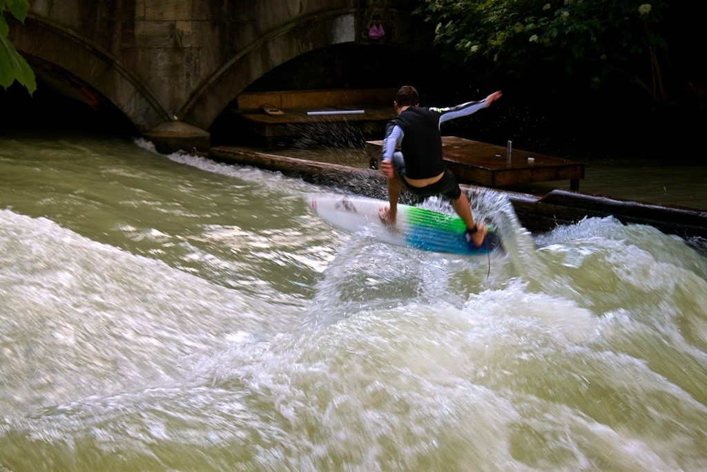 Munich River Surfing