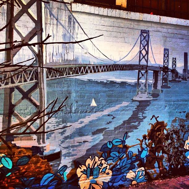Street Art San Francisco - Golden Gate