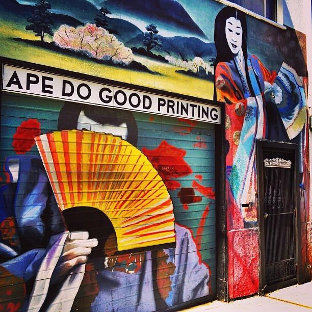 Street Art San Francisco - Mission Print Shop