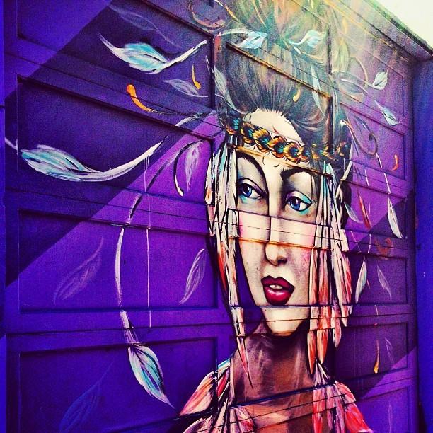 Street Art San Francisco - Woman