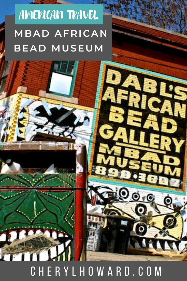 MBAD African Bead Museum Detroit - Pin