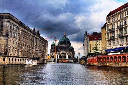 Berlin Spree Boat Tour 1 440x294 - Instagramming ... A Berlin Boat Tour Along the River Spree.