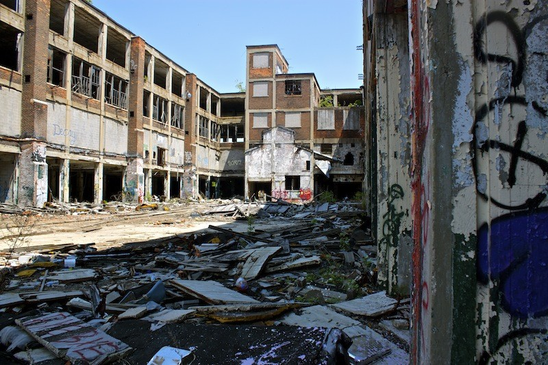 Packard Automotive Plant - Ruins