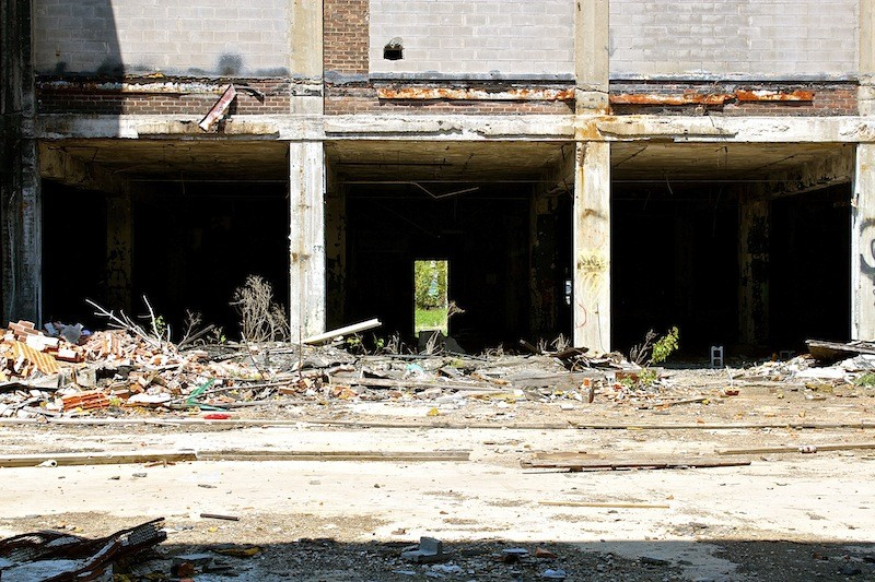 Packard Automotive Plant - Urban Decay